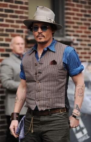 Johnny Depp şi-a modificat tatuajul dedicat fostei soţii într-o INSULTĂ!