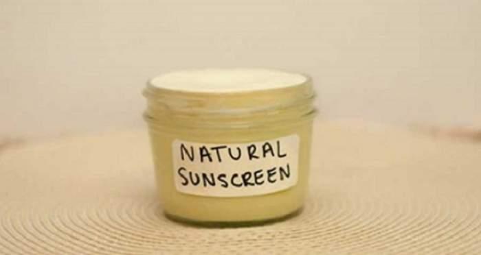 Crema de protecţie solară, în borcanul tău, preparată de tine! Cum s-o faci acasă