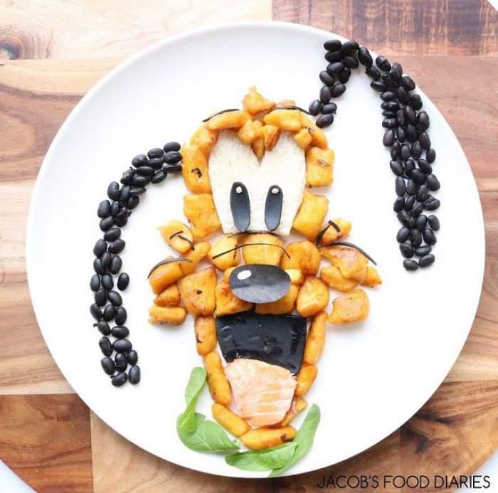 GALERIE FOTO / Personajele care prind viaţă în farfurie! Moduri în care îţi poţi face copilul să mănânce sănătos
