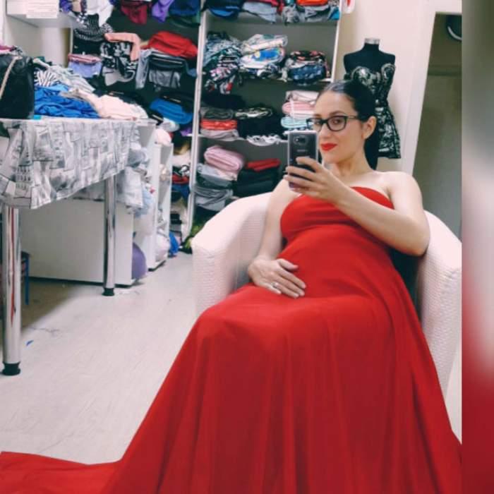 Cea mai controversată gravidă din showbiz-zl de la noi şi-a expus, în sfârşit, burtica
