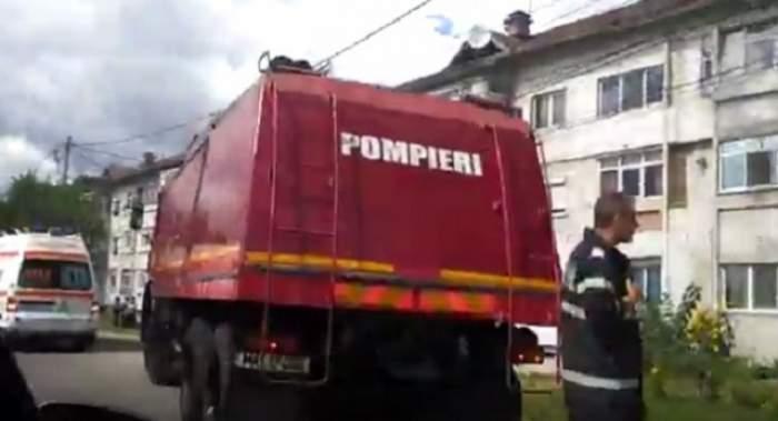 Un bloc din Slatina, evacuat de urgență din cauza mirosului de gaz