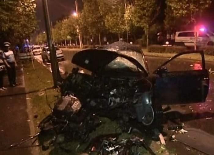 Accident mortal la intrare în Vaslui! Șoferul unui autoturism, decapitat în urma impactului