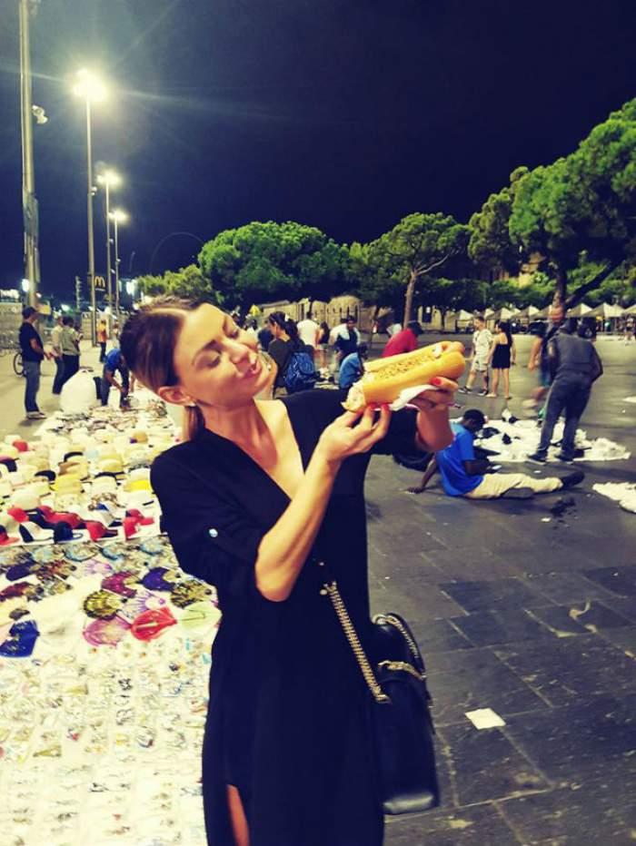 Ana Mocanu i-a făcut pe spanioli să se uite lung după ea. Cum a ieşit vedeta pe stradă