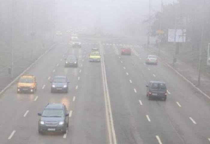 Anunţul făcut de meteorologi: cod galben de ceaţă în patru regiuni ale României!