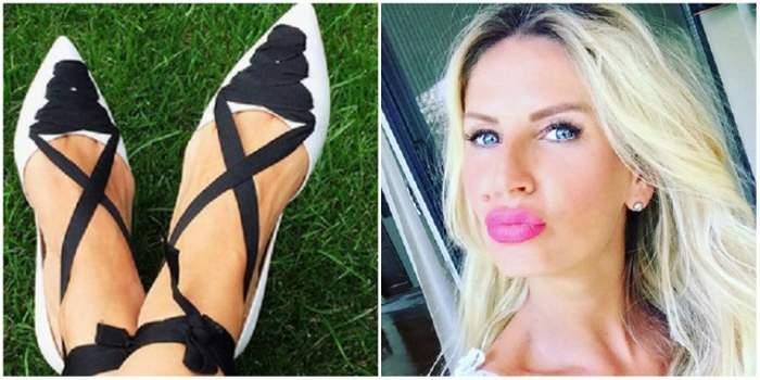 Andreea Bănică s-a LĂUDAT cu PANTOFII ei, dar a scăpat un DETALIU pe care l-ar fi vrut ASCUNS