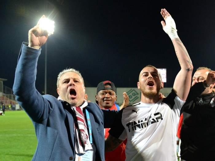 VIDEO / Europa League, play-off, manșa tur: Astra Giurgiu – West Ham United 1-1! După o pauză de două luni, Denis Alibec a revenit pe teren și a marcat!