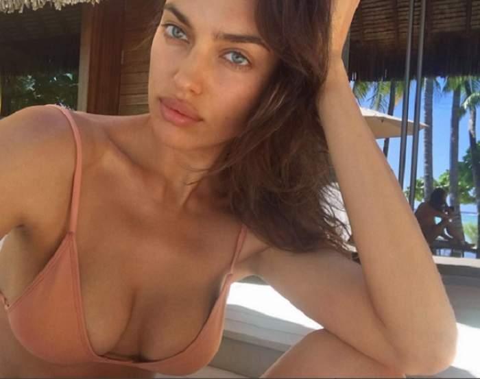 FOTO / S-a vopsit blondă și e de nerecunoscut! Irina Shayk, irezistibil de sexy după o schimbare de look radicală
