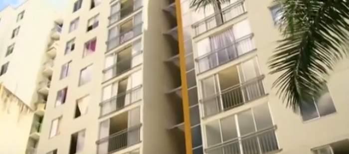 VIDEO / Noroc chior pentru un bărbat! A căzut de la etajul 11 și a supraviețuit! Cum a fost posibil