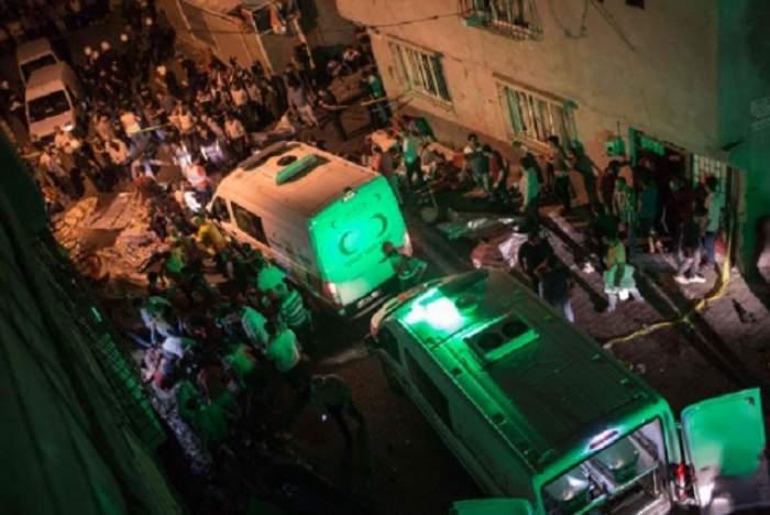 FOTO & VIDEO /  Atac terorist în la o NUNTĂ din TURCIA! Cel puțin 30 de oameni au murit și peste 90 au fost răniți