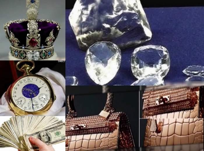 VIDEO / Lista cu cele mai costisitoare obiecte din lume! Cel mai ieftin e 1000 de dolari