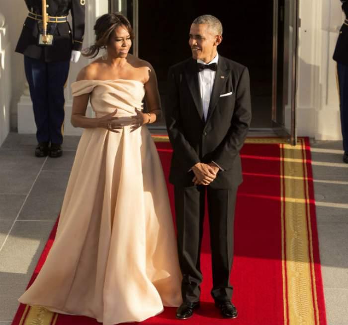 VIDEO & FOTO / Povestea de dragoste a lui Michelle şi Barack Obama, desprinsă din poveşti! Descoperă secretele celui mai important cuplu prezidenţial din lume