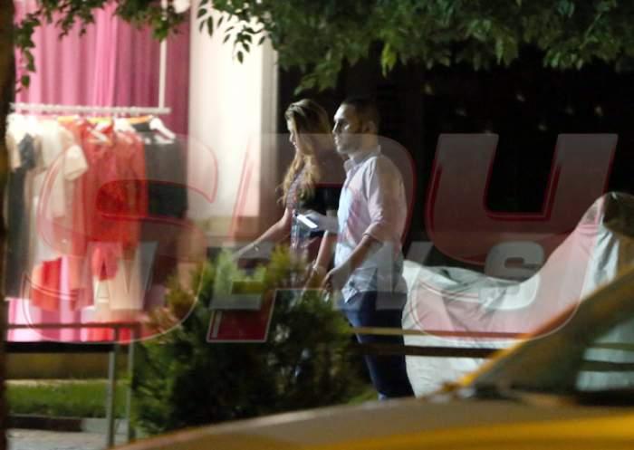 EXCLUSIV PAPARAZZI! După o noapte de distracție, Ramona Gabor a plecat cu un bărbat la hotel!