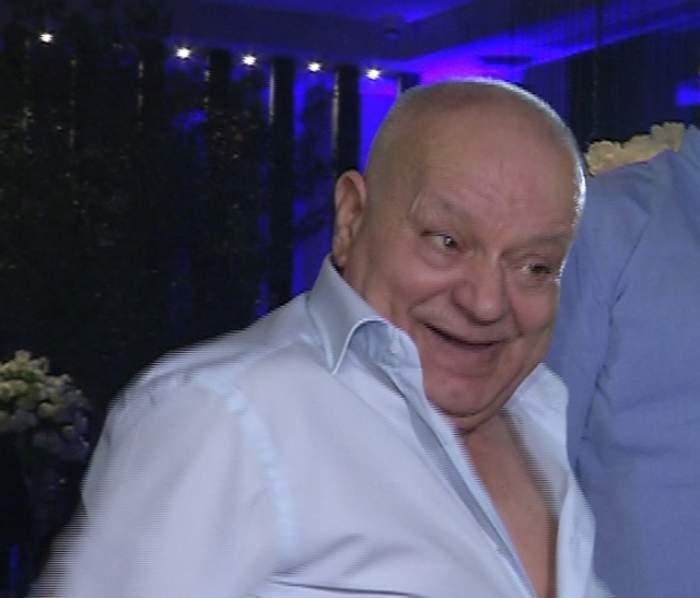 VIDEO / Ultimele imagini cu tatăl lui Florin Salam în viaţă! Bărbatul a chefuit până în zori la botezul nepoatei!
