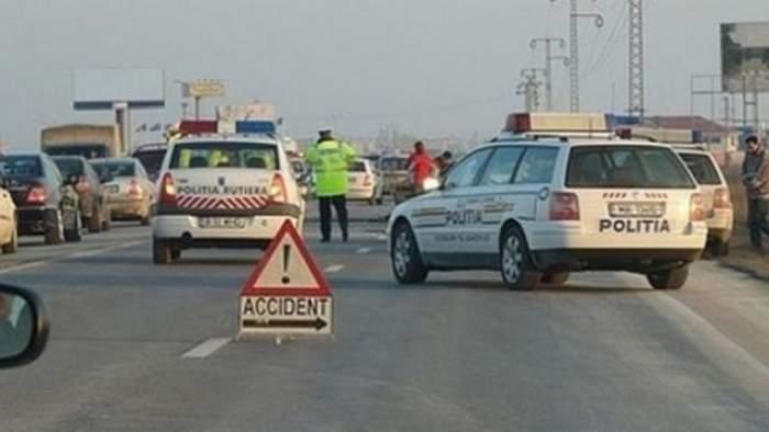 Accident pe Centura Capitalei! Două persoane au fost rănite grav! Traficul este îngreunat
