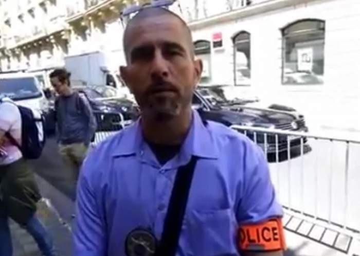 """VIDEO / Românii au ajuns de râsul """"curcanilor"""" din Franţa! Gestul scandalos făcut de un om al legii"""