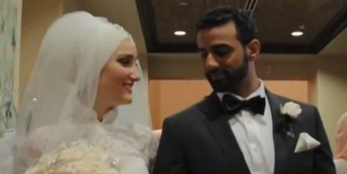 Nuntă de vis în stil libanez! Mireasa a fost îmbrăcată din cap până în picioare, însă a fost vedeta petrecerii