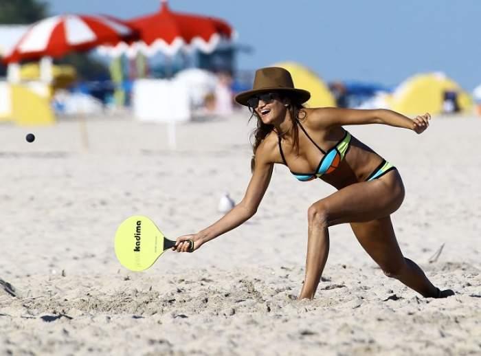 FOTO / Ea e cea mai sexy sportivă prezentă la Jocurile Olimpice! Când aruncă suliţa, ţi se frânge inima! Imagini interzise cardiacilor!