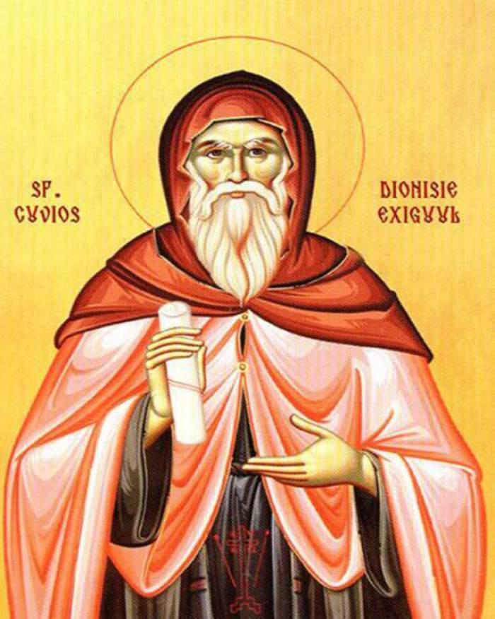 """E sărbătoare astăzi! E prăznuit Sfântul Dionisie Exiguul, """"inventatorul"""" erei creștine"""