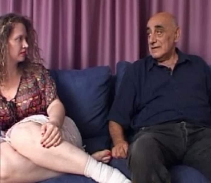 VIDEO / Sunt împreună de ani de zile, dar Viorel Lis nu mai ţine pasul cu Oana! Cum au fost surprinşi la malul mării
