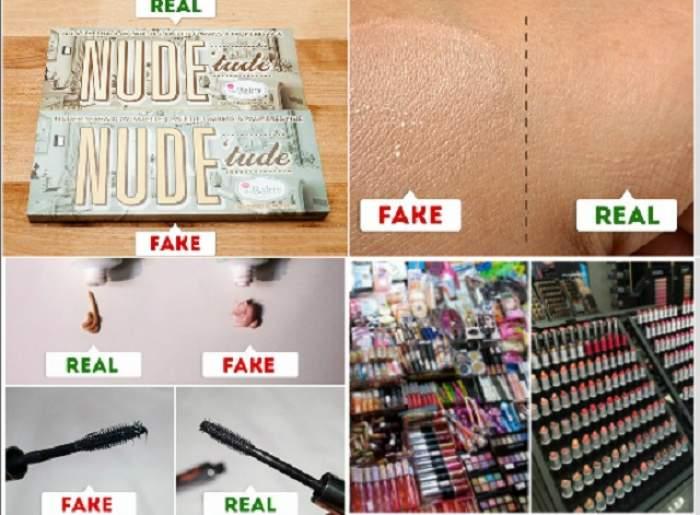 ÎNTREBAREA ZILEI - SÂMBĂTĂ: Cum să deosebeşti produsele de make-up originale de cele false? 7 trucuri care te ajută să ştii ce cumperi