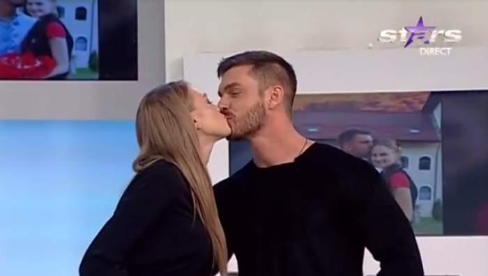 VIDEO /  Lui Bogdan Vlădău i-a dat inima în loc când a auzit ce nume vrea iubita lui pentru fetiţă