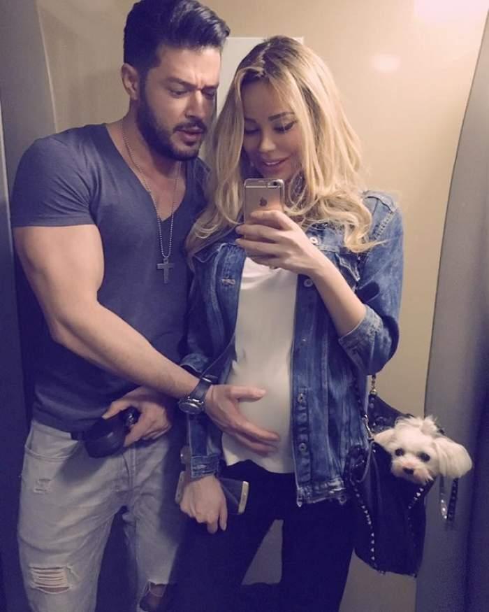 """Bianca Drăguşanu l-a dat de gol! Cum o """"ajută"""" Victor Slav la cumpărăturile pentru fetiţa lor: """"Şi tăticii se implică!"""""""