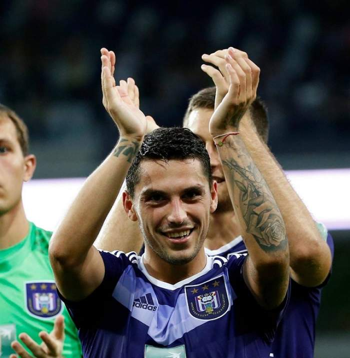 FOTO / Nicuşor Stanciu şi-a găsit marea iubire în Belgia! Mijlocaşul, succes nebun la Anderlecht!