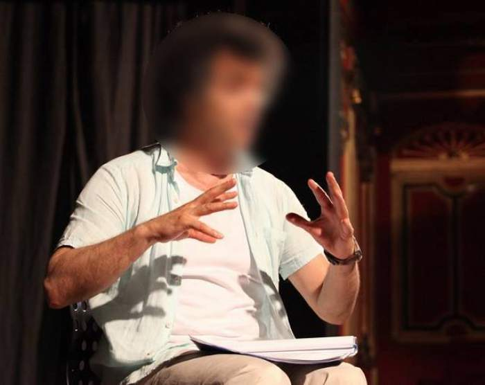 Întâlnire de taină pentru un actor controversat de la noi! S-a ascuns, cu o blondă, într-o cafenea!