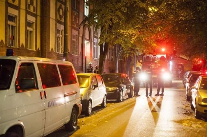 Incendiu la un cămin din Timișoara. 400 de studenți au fost evacuați