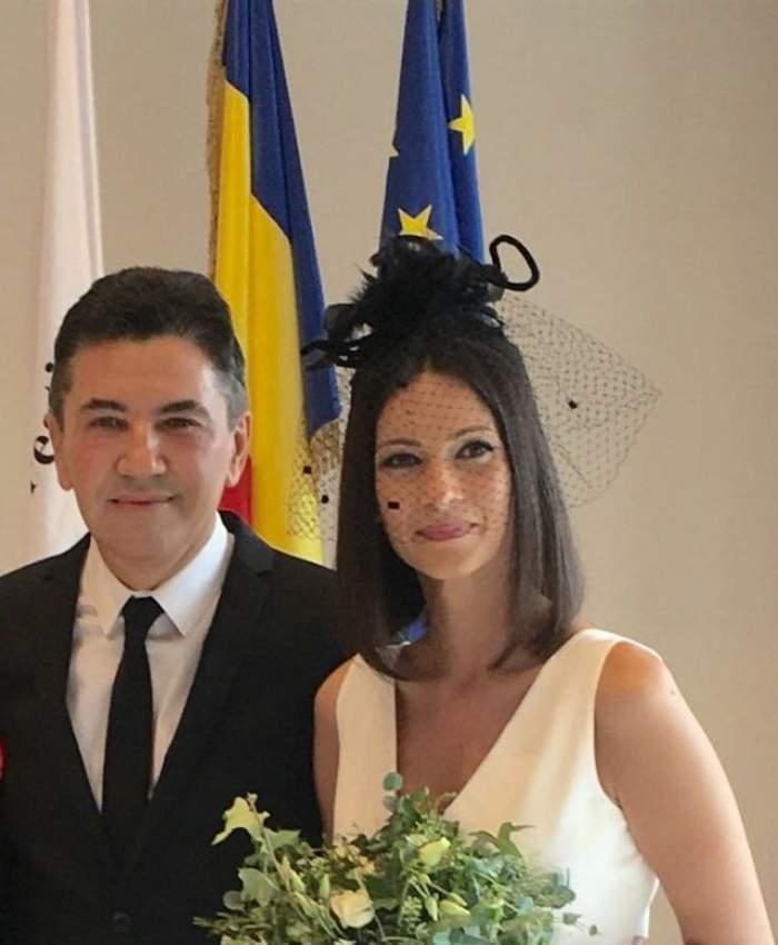 Andreea Berecleanu s-a căsătorit cu esteticianul Constantin Stan!