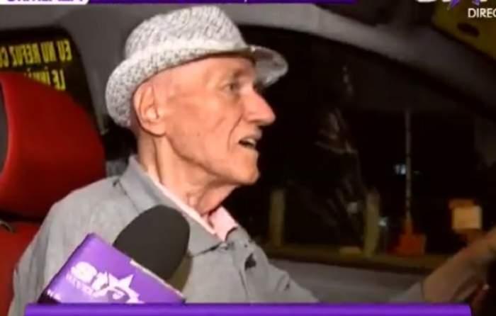 VIDEO / Taximetrist la 86 de ani! El este nea' Gheorghe şi uimeşte pe toată lumea! Stai să vezi ce are scris pe geamul maşinii