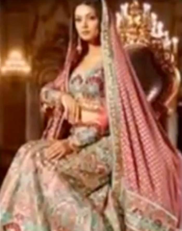 VIDEO & FOTO / Impresionante, dar şi foarte scumpe! Cele mai spectaculoase rochii de mireasă în stil indian