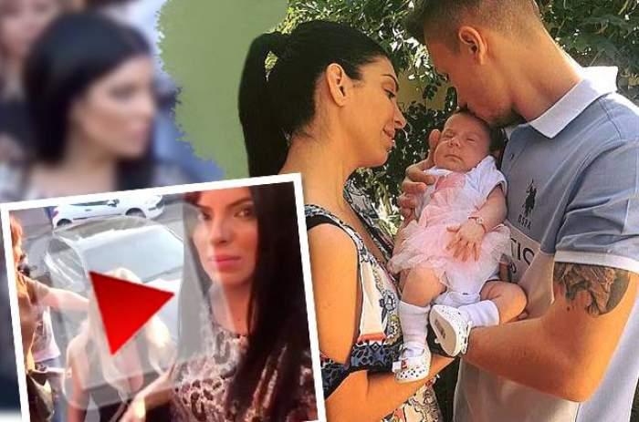 VIDEO / Andreea Tonciu, botez în secret! Cu două zile înaintea nunții, și-a creștinat fetița! Imagini exclusive!