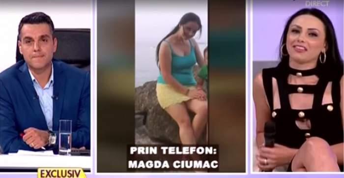 VIDEO / Actuala parteneră de viață a lui Tolea Ciumac TUNĂ ȘI FULGERĂ! A venit la TV cu acte pentru a demonstra că Magda Ciumac minte! A fost mare scandal
