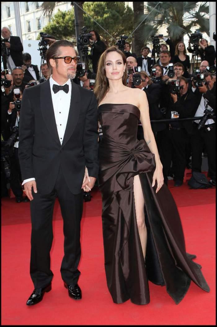 VIDEO / Cine este şi cum arată actriţa cu care Brad Pitt a înşelat-o pe Angelina Jolie