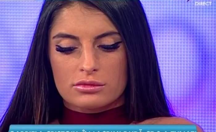 """VIDEO / Din operată a ajuns DISPERATĂ! Gabriela Cristoiu declaraţii ŞOC: """"Trebuie să îmi tai buzele"""""""