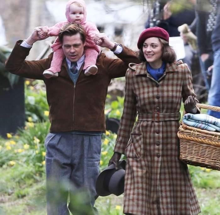 Amanta lui Brad Pitt este însărcinată! Cine e tatăl?