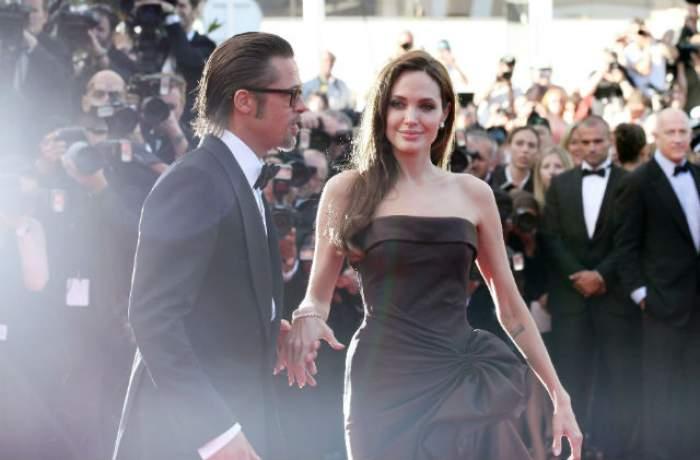 Angelina Jolie, REACŢIA care SPUNE TOT! Ce a făcut când s-a întâlnit cu presupusa AMANTĂ a lui Brad Pitt