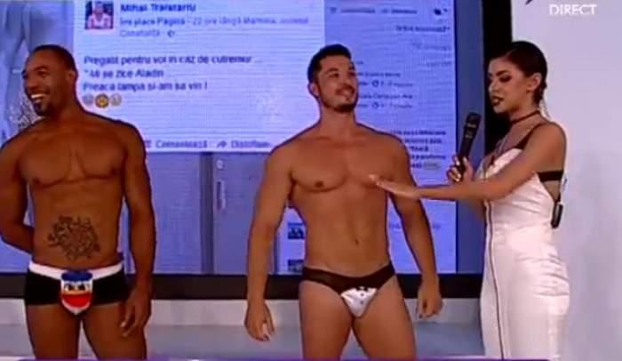 """VIDEO / Sorin, ispita de la """"Insula Iubirii"""", ÎN CHILOŢI la TV! Parada modei, ÎNTR-UN MARE FEL"""