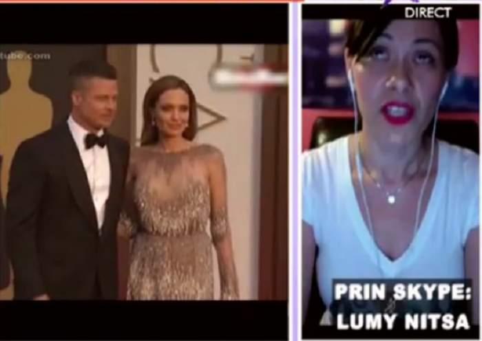 """VIDEO / Ce spune Lumy Nitsa despre divorţul dintre Brad Pitt şi Angelina Jolie! """"Ea a vrut să se omoare"""""""