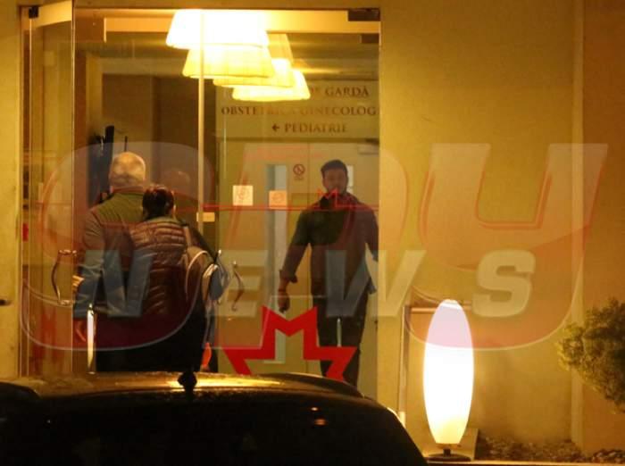 VIDEO / Victor Slav a ieşit cu prietenii la restaurant să sărbătorească, dar nu a durat mult şi a dat fuga la spital