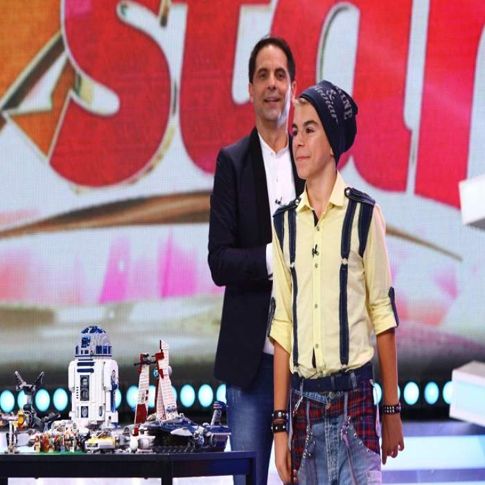 """Scene uimitoare la """"Next star"""". La doar 13 ani a inventat un robot care rezolvă cubul Rubik"""