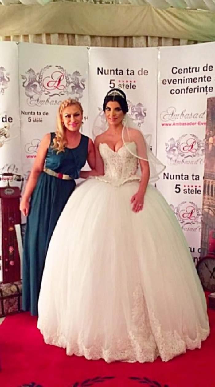 Cea mai frumoasă poză de la nunta Andreei Tonciu cu Daniel Niculescu! Mireasa a fost pusă în umbră, dar nu a deranjat-o