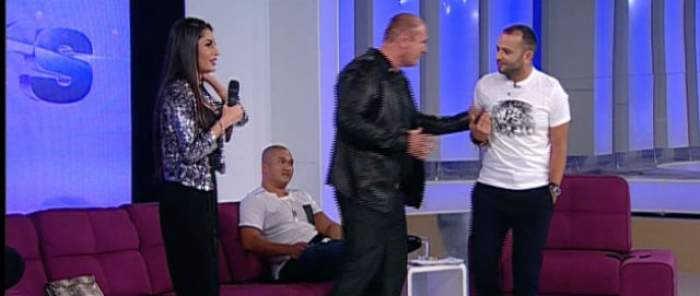 """VIDEO & FOTO / Nick Rădoi l-a îmbrâncit pe Mihai Morar în direct la TV: """"Pleacă de aici, omule!"""" Ce l-a făcut pe omul de afaceri să reacţioneze violent"""