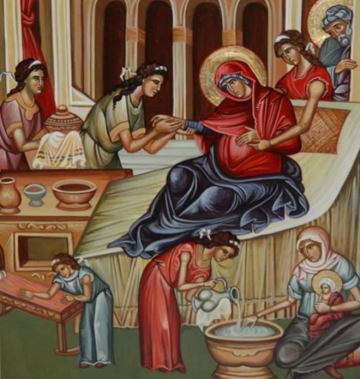 Astăzi e sarbătoare mare! Ce trebuie să faci neapărat de Naşterea Maicii Domnului pentru a fi ferit de rele