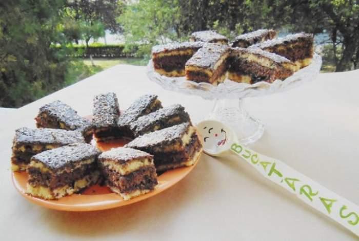 REŢETA ZILEI - JOI / Prăjitură cu gem de prune şi migdale