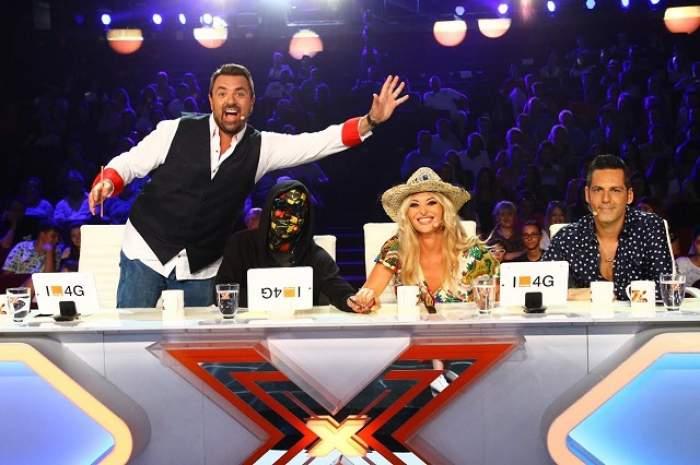 """FOTO / Juratul de la Carla's Dreams are câte un machiaj diferit pentru fiecare zi de filmare la """"X Factor""""! Rămâi mut când le vezi"""