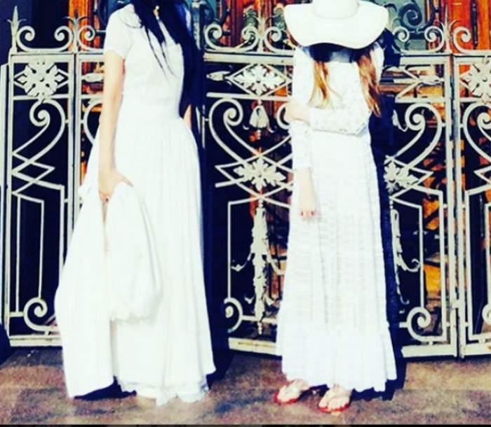 FOTO / O creatoare de modă celebră, neatentă cu fiica sa?! Are 12 ani și îi permite să se machieze în fiecare zi