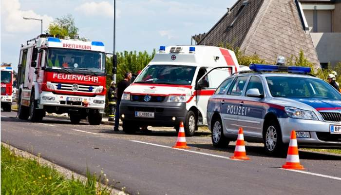 Accident grav în Germania: 6 morți și 13 răniți