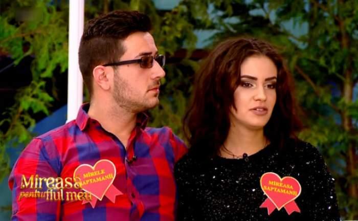 """VIDEO / Valentin de la """"Mireasă pentru fiul meu"""" PĂRĂSEŞTE competiţia?! Reacţia Andradei spune TOT despre relaţia lor"""